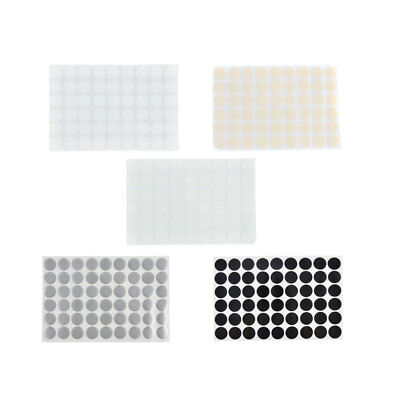 Furniture Polish Surface Self-adhesive Screw Hole Stickers Covers Sheet 54 in 1
