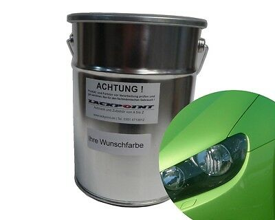 3 Liter Ready to use Base coat VW LR6T Vipers Green Metallic Car paint Lackpoint