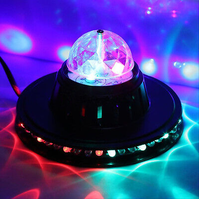 Sound Actived RGB LED Stage Effect Light Lighting Ball DJ Disco Bar Party Club