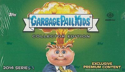 2014 Topps Garbage Pail Kids Series 1 Hobby Collector Edition Box