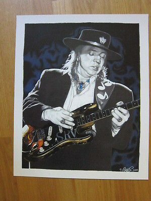 STEVIE RAY VAUGHAN  2003 poster 15.5x19