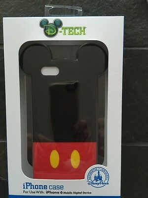 Disney D-Tech iPhone 6 Clip Case - Mickey Mouse Ears - NEW