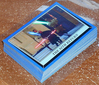 Star Wars Rogue One Mission Briefing ~ BLUE PARALLEL BASE CARD LOT (38) no dupes