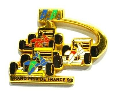 Pins Auto Grand Prix De France 1992 Formule 1  A. Bertrand