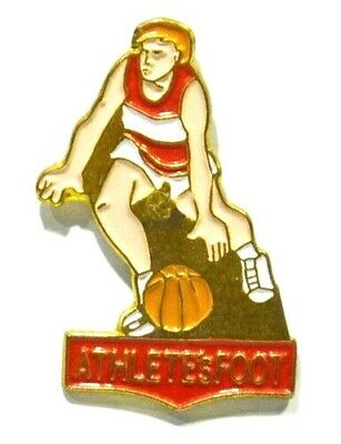 Pins Basket-Ball Athlete's Foot Basketteur