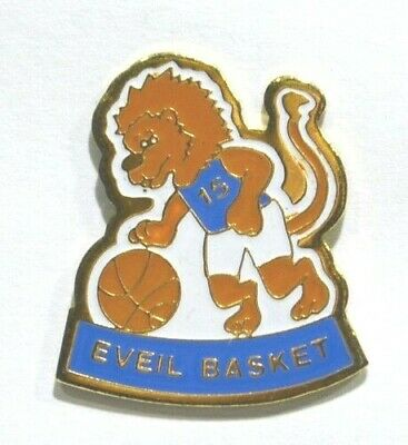 Pins Basket Ball Club Eveil Basket 69 Lyon Lion