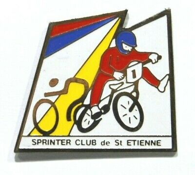 Pins Cyclisme Cycle Velo Sprinter Club St Etienne 42 Loire