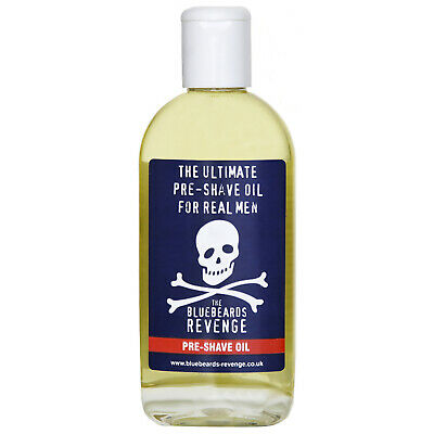 NEW The Bluebeards Revenge Shave Pre-Shave Oil 125ml FREE P&P