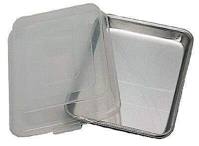 Artisan Metal Works 1/4 Size Aluminum Sheet Pan with Cover For Baking Cookies