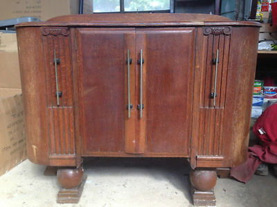 Retro Vintage Antique Rare Ercol Designer Solid Wood Sideboard Cabinet Cupboard