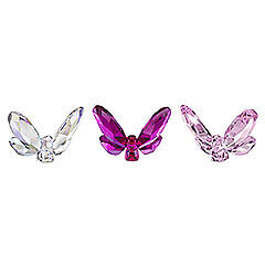 swarovski  Butterflies, Small (set of 3)