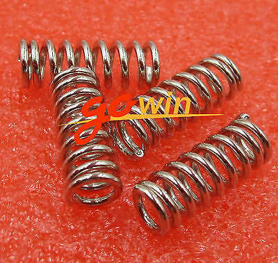 10PCS Spring For 3D Printer Extruder Heated Bed Ultimaker Makerbot NEW
