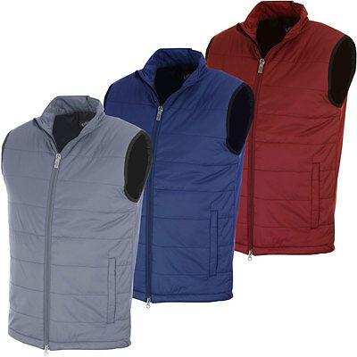 Callaway Golf Mens Puffer Fiber Filled Vest Sleeveless Bodywarmer Gilet