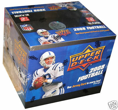 NFL - 2008 Upper Deck NFL Football Cards Sealed Box (Retail) #NEW