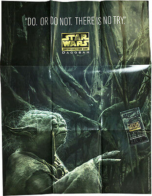 STAR WARS CCG - Dagobah Promotional Release Poster 84cm x 65cm (Decipher) #NEW