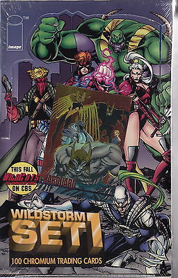 WILDSTORM - Set 1 Factory Sealed Trading Cards Box [Wildstorm] #NEW