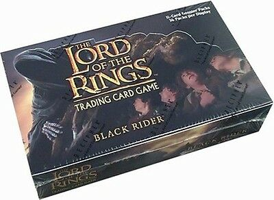 LOTR OF THE RINGS TCG - Black Rider Cards Sealed Booster Box (Decipher) #NEW