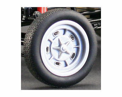 1:18 Winged Express Drag Wheel and Tyre Set