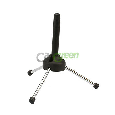 Portable Foldable Tripod Flute Clarinet Instrument Stand Holder Rack Display
