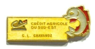 Pins Banque Credit Agricole Chavanoz 38 Isere Dauphine Dauphin Dolphin