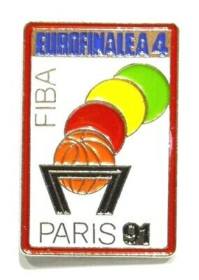 Pins Basket Ball Fiba International Basketball Federation Paris 1991