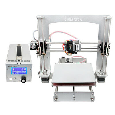 Geeetech Full aluminum Prusa I3 3D printer 3-in-1 control box Strong frame