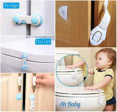 Some Durable Door Fridge Drawer Cabinet Safety Locks for Kids Children Baby