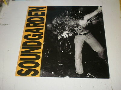 SOUNDGARDEN - LOUDER THAN LIVE - RARE LP 1989 A&M RECORDS MADE IN HOLLAND ex+/ex