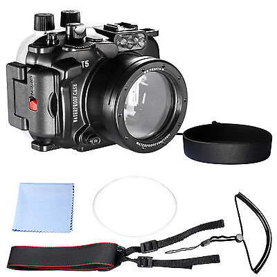 Neewer 130ft Underwater PC Housing Camera Waterproof Case for Nikon lens