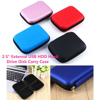 2.5 inch Storage Pocket Carry Case Pouch Bag Holder For USB HDD Hard Drive Disk