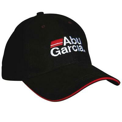 Abu Garcia Black Fishing Peaked Cap Baseball Hat 1152199