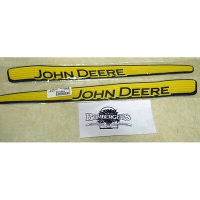 John Deere Hood Trim Decal Set - GX21912 GX21913 - 115 135 LA100 LA110
