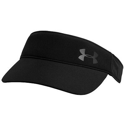 Under Armour 2016 Womens UA Fly Fast Visor - Black/Reflective - One Size