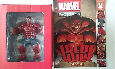MARVEL,fact files,collection,5,RED HULK,neuf,eaglemoss,magazine