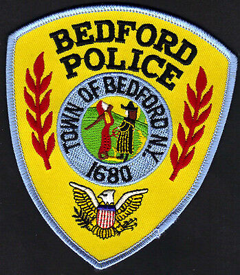 Bedord N.Y. New York Police Shoulder Patch