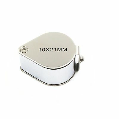 Jewellers Jewellery 10x21 Loupe Magnifying Glass Magnifier Glass Eye Lens