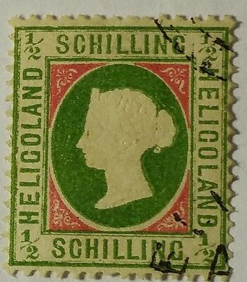 Heligoland  Scott#5 Cat Val. At $200.00  Used   Stamp  ...worldwide Stamps