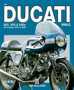 Ducati Bevel 900 Bible SS MHR 860 GT Mille Darmah Author signed book brand new