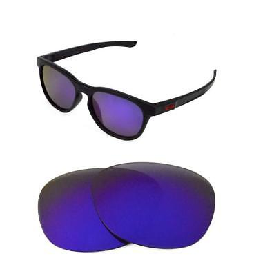 3a06342f6cc2c NEW POLARIZED REPLACEMENT Purple Lens For Oakley Oil Drum Sunglasses ...