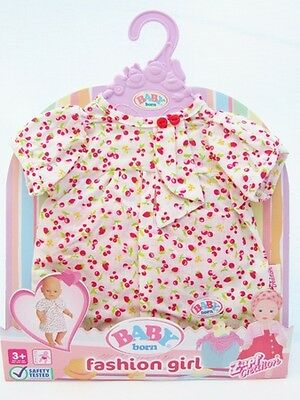 """Baby Born Dresses Outfit By Zapf Creation Dolls Clothes Dress for 17"""" Doll"""