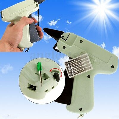 Tagging Tag Gun+1000 Tag Barbs+5 Needles Clothes Garment Sock Price Label