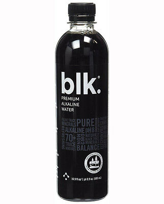 blk Premium Alkaline Fulvic Mineral Infused Water 500ml with Fulvic Minerals