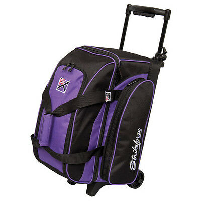 KR Eliminator Purple 2 Ball Roller Bowling Bag