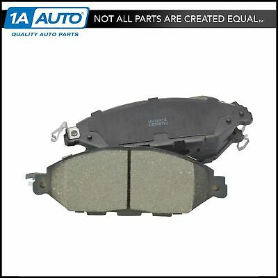 Front Rear Posi-Quiet Ceramic Brake Pads 2Set For 2014 Nissan Rogue