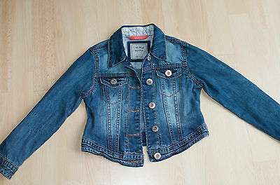 Girls NEXT Denim Jeans Jacket Size 5-6 Years L@@K
