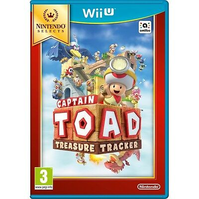 Captain Toad Treasure Tracker (Wii U) (Selects) [New Game]