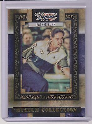2008 Donruss Legends Parker Bohn ~Gold~ Museum Card ~ /100 Pba Great ~ Bowling