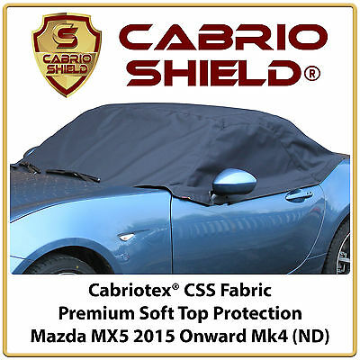 Mazda MX5 Car Hood Soft Top Roof Cover Half Cover Protection 2015 Onward
