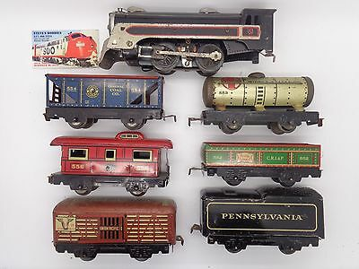 Used O-Gauge New York Central Tin Train Set - Marx