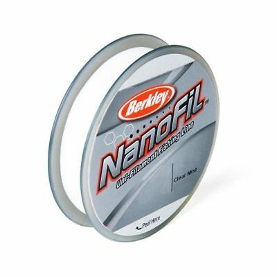 Berkley Nanofil 17lb 150yd Clear Mist Filler Braided Line Spool 17-150 yd New